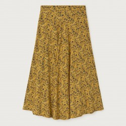 LAVANDA SKIRT MULTIFLOWERS MUSTARD