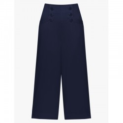 MADELOISELLE YEYE MARLENE AT THE SEA CULOTTE NAVY