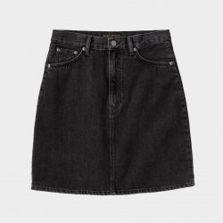 NUDIE JEANS HANNA SKIRT BLACK TRACE XS