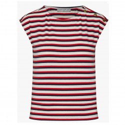 MADEMOISELLE YEYE TOP FEEL THE BEAT SUMMER STRIPES