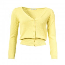 FROY & DIND CARDIGAN  GERDY  YELLOW