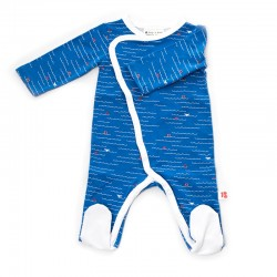 FROY & DIND JUMPSUIT WITH FEET OCEAN