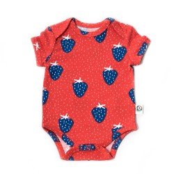 FROY & DIND BODY  SHORT SLEEVES STRAWBERRY