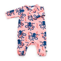 FROY & DIND JUMPSUIT OTTO WITH FEET OCTOPUS