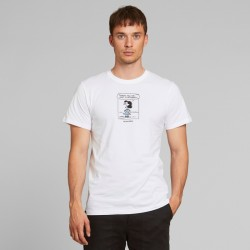 DEDICATED T-SHIRT STOCKHOLM LUCY WHITE