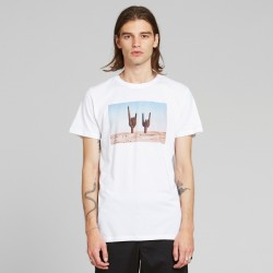 DEDICATED T-SHIRT STOCKHOLM CACTUS WHITE