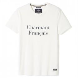 LA GENTLE FACTORY PHILIBERT TS CHARMANT FRANCAIS BLANC