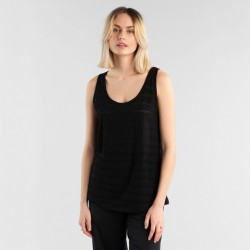 DEDICATED TOP NORA LACE JERSEY BLACK