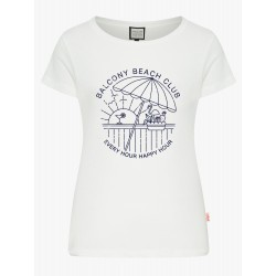 MADEMOISELLE YEYE BALCONY BEACH CLUB T-SHIRT