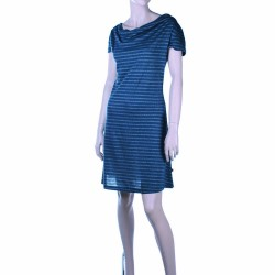 DRESS MIMI STRIPES GREYS 2 TREAT