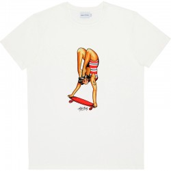 HAND STAND TEE NATURAL S