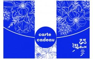 carte cadeau fleur