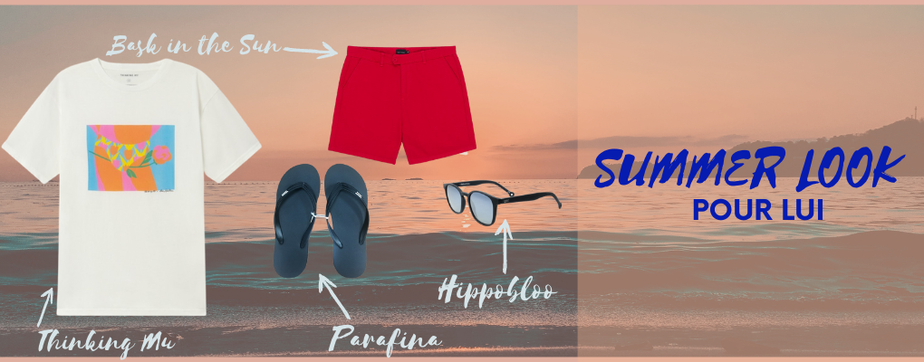 INSPIRATION SUMMER LOOK POUR HOMME